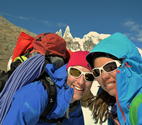 V5 Frauenseilschaft am Cerro Torre