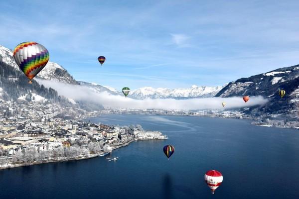 Internationale Ballonwoche  in Zell am See-Kaprun  (c)balloonalps_Zugschwert